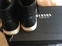 Used Versace mens shoes not gucci or true religion