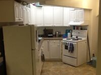 Bachelor suite for rent in Lacombe.