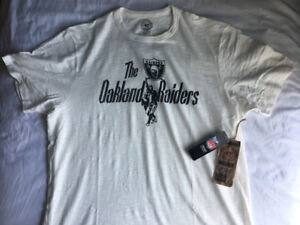 Vintage Oakland Raiders shirt new with tags