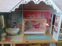 Doll House for $65 with accesories