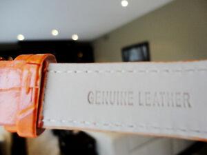 4 Brand New Manhattan by Croton Quartz Watches w/ Leather Bands Kitchener / Waterloo Kitchener Area image 6