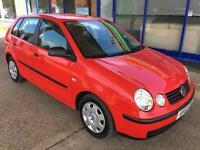 2002 Volkswagen Polo 1.2 (a/c) - MOT: 17 November 2017 (No advisories) -3FK