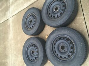 4 used winter Rims for sale (from a 2012 Tucson)