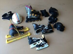 Roller blades and accessories Kitchener / Waterloo Kitchener Area image 1