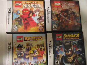 Lego DS Games, set of 4