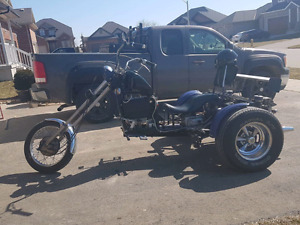 1975 trike  custom chopper