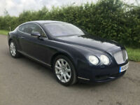 2006 BENTLEY CONTINENTAL GT 6.0 AUTO SAPPHIRE BLUE **OUTSTANDING CONDITION**