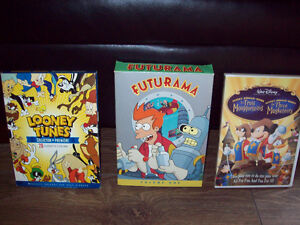 DVD (FUTURAMA/LOONEY TUNES/DISNEY/SIMPSONS/SOUTH PARK)