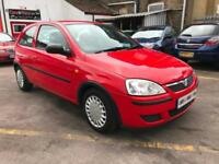 2006 VAUXHALL CORSA CLASSIC 3 DOOR HATCHBACK VERY LOW MILES 60083 SERVICE HIS