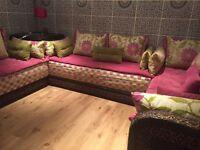 Moroccan handmade settees