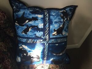 Beautiful Quilt & Pillow For Sale