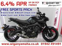 YAMAHA MT-09 ABS WITH TRACTION CONTROL, QUICK SHIFTER, D-MODE MAPS...