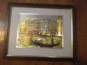 Scenic picture-professionally framed and matted