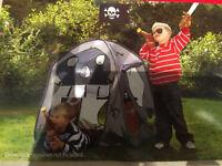 Pop up pirate tent