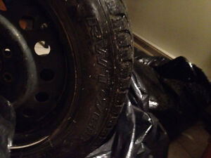 from toyota celica 2001 winter tires and rims Kitchener / Waterloo Kitchener Area image 2