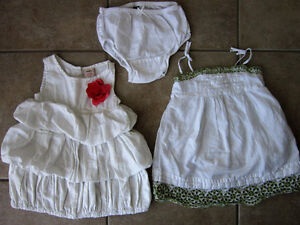 12-18 Month Baby Gap and Old Navy summer dresses and skirt