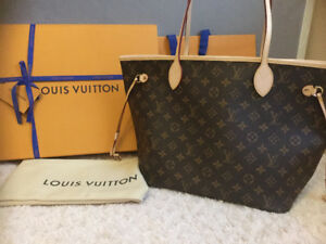 Louis Vuitton Neverfull Mm monogram canvas almost new