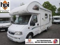 Bessacarr E425 Motorhome - L-Shaped Triple Aspect Lounge