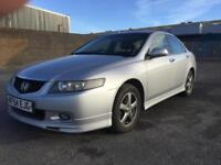 Honda Accord 2.4 i-VTEC ( 188bhp ) ( 17in Alloys ) Type-S
