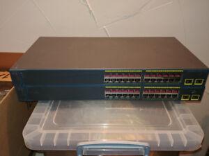 6 x Cisco Switches
