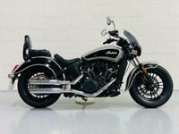 Indian Scout Sixty RARE ! VANCE AND HINES PIPES ! 1000'S IN EAXTRA'S ! PRISTINE
