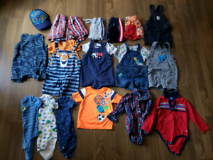 Boys 18 month summer clothes jackets 26 items