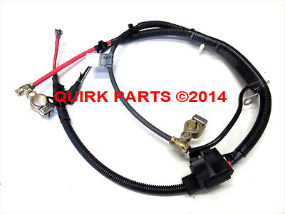 2000-2004 Ford Focus 2.0L Positive & Negative Battery Cable Harness OEM NEW