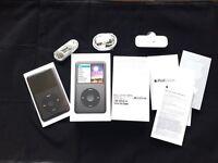 Boxed Apple iPod Classic 7th Generation black 160GB