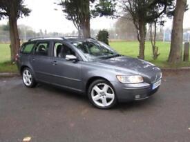 Volvo V50 1.8 SE**PETROL ESTATE CARS**TOP SPEC**VOLVO FSH**NEW MOT**
