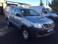 Toyota Hi-Lux 2.5D-4D 4WD Extra cab 2012 62 reg 1 owner from new