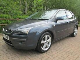07/57 FORD FOCUS 1.8 ZETEC CLIMATE 5DR HATCH IN MET GREY WITH SAT NAV