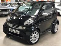 2002 Smart Fortwo 0.6 City Passion Cabriolet 2dr