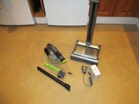 Gtech Air Ram & Gtech Multi. Cordless upright vacuum and handheld vacuum.