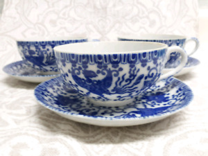Antique Fine China Tea Cups, Made in Japan