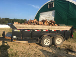 Late on getting your firewood in?