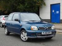 Nissan Micra 1.0 2002 +1 OWNER FROM NEW!! MOT JAN 2019+JUST SERVICED + CHEAP CAR