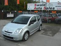 2007 CITROEN C2 DESIGN 1.1L ONLY 84,243 MILES, FULL SERVICE HISTORY