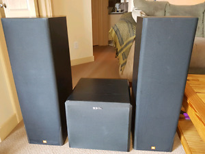 JBL Home Speakers with Self Powered Sub