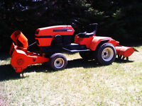 ARIENS HYDROSTATIC TRACTOR WITH SNOWBLOWER AND TILLER