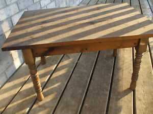 ANTIQUE END TABLE HOME MADE GREAT CONDITION,,FOR SALE Belleville Belleville Area image 2