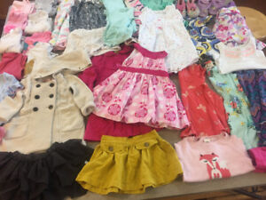 12-24 month girls lot