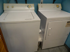 Washer & Dryer: Extra Large Capacity, Heavy Duty, Matching Set