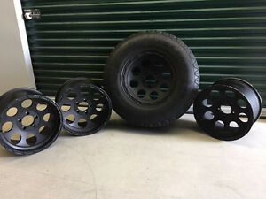 "17"" Jeep Unlimted Rims,  alloy"