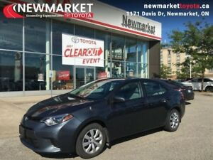 2015 Toyota Corolla LE  - local - trade-in - Certified - $52.09