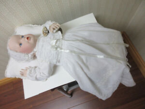 The Victorian Christening Baby doll- Franklin Heirloom Mint