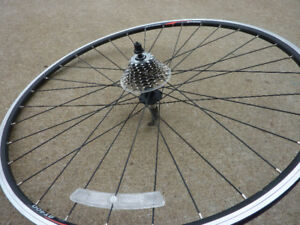 ALEXRIMS AT400  rim with 9 speed gear set,quick release axle