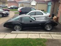 Selling my dads corvette.