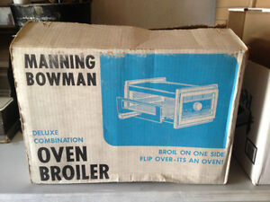 Manning bowman oven broiler Brand new in Box