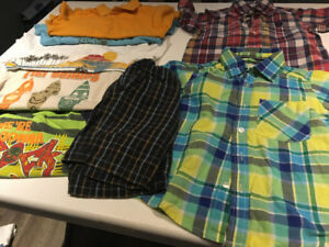 LIKE NEW!  PACKAGE DEAL SIZE 3/4 BOYS SUMMER CLOTHS