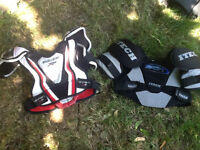 CHEST PROTECTOR/SHOULDER PADS (CHILD /YOUTH)